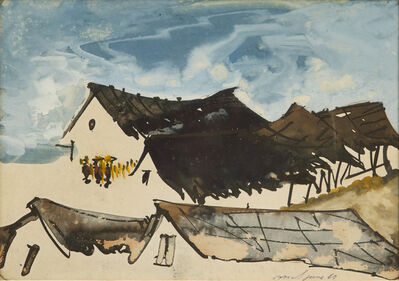 Gopal Ghose, 'Houses', 1969