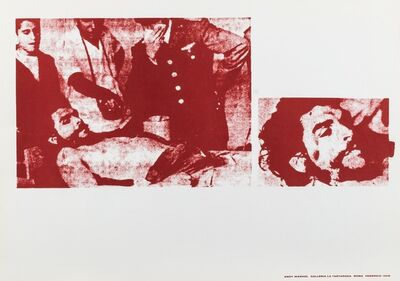 Andy Warhol, 'Andy Warhol', 1968