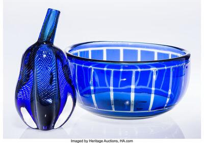 Edward Hald, 'Graal Gourd Vase and Ravenna Bowl', 1964 & 1942