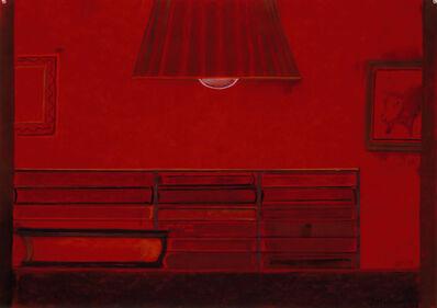 Richard Artschwager, 'Untitled (Red bookcase)', 2006