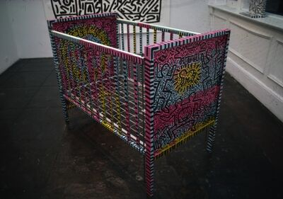 Keith Haring, 'Crib', 1981