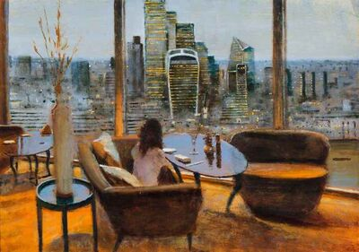 Clive McCartney, 'Twilight from the Shangri La to the City', 2020