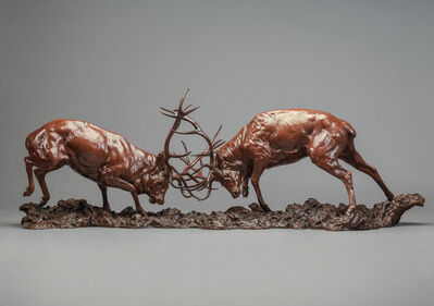 Nick Bibby, 'Red Deer Stage, The Duel', 2016