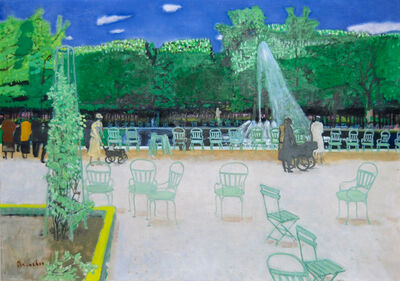 Maurice Brianchon, 'Les Tuileries', 1961