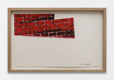 Pierre Buraglio, 'Les murets', 2018