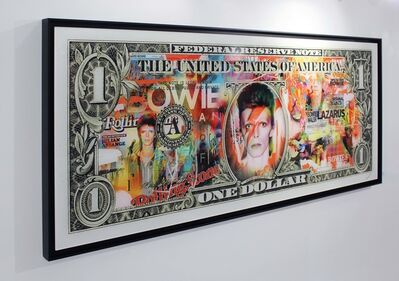 Aaron, 'Dollar Bowie Red Hot', 2018