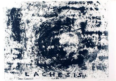 Robert Morris, '(Bon a tirer) Lachesis', 1995