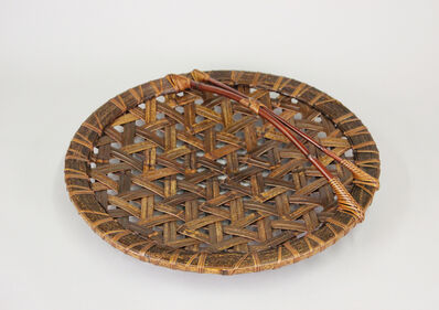 Kawano Shoko, 'Black Bamboo Tortoiseshell Flower Basket', 2014