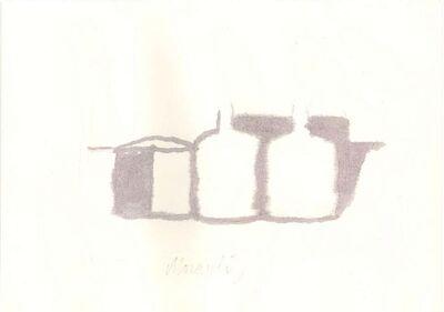 Giorgio Morandi, 'Bottles ', 1973