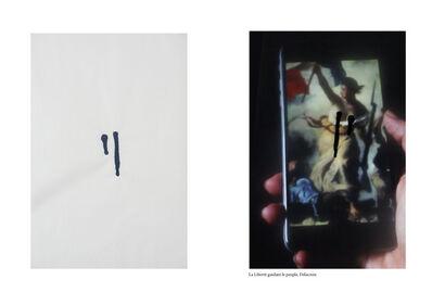 Johanna Reich, 'The Ethics of Coding Famous Artworks censored by Facebook between 2011-2019 La liberté guidant le peuple, Delacroix', 2019