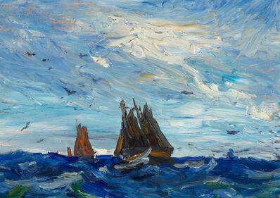 Jonas Lie, 'Sailboats'