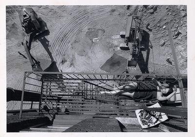 Henri Dauman, 'Digging-up next door in NYC', 1963