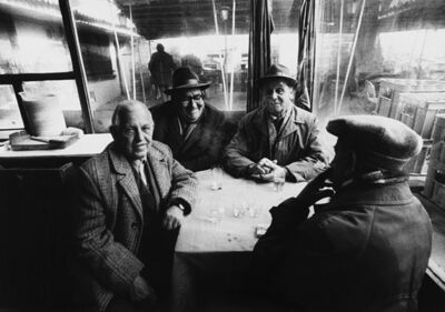 "Antanas Sutkus, 'In a café in Ploudin, from the series ""Meetings with Bulgaria""', 1980"