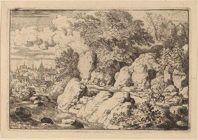 Allart van Everdingen, 'Two Horsemen on a Rocky Path', probably c. 1645/1656