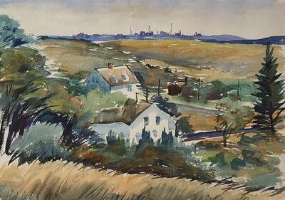 Charles De Carlo, 'Farm Houses', Mid 20th c.