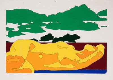 Werner Berges, 'Landstück', 1971