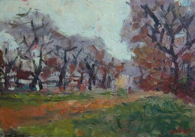 Aron Froimovich Bukh, 'Sunset in Autumn', ca. 2000
