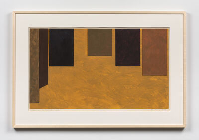 Mary Obering, 'Streams and Mountains Without End', 1974