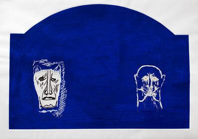 Mimmo Paladino, 'Anacreonte', 1990
