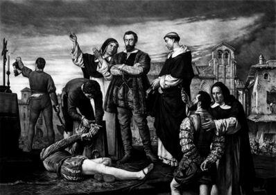 Kepa Garraza, 'Execution of the Comuneros of Castile', 2020
