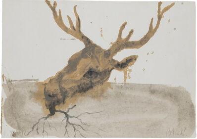 Miquel Barceló, 'Deer head', 1992