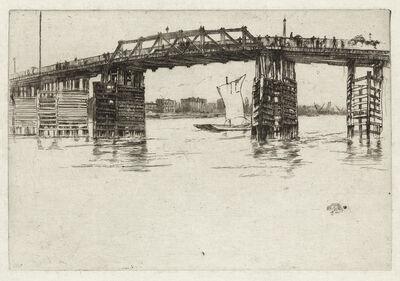 James A. M. Whistler, 'Old Battersea Bridge', 1879