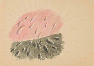 Markus Raetz, 'Ohne Titel', 1970