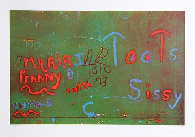 Jon Naar, 'Toots from Faith of Graffiti', 1974