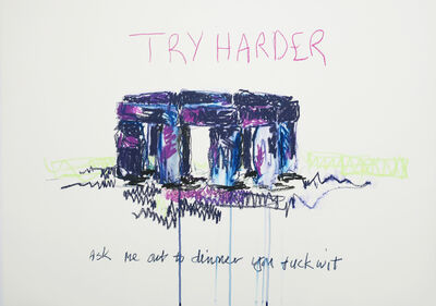 Laura Fitzgerald, 'Try harder', 2019