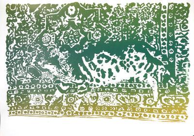 Anna Jermolaewa, 'Cat becoming a carpet', 2020