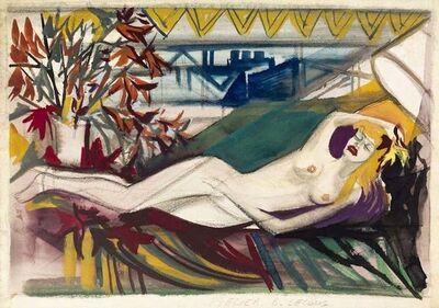 Unknown, 'Sensual Nude', 1980s