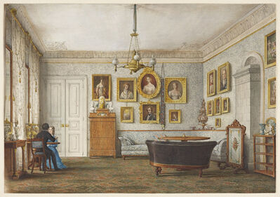 Otto Wagner, 'A Salon in a Residence of the Duke of Leuchtenberg', 1850