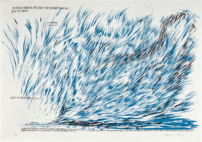 Raymond Pettibon, 'Untitled (A Sea of Grinding Tectonic Plates...)', 2008