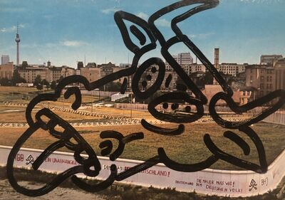 David Wojnarowicz, 'Untitled (To Russell Sharon and Luis Frangella from Berlin)', 1984
