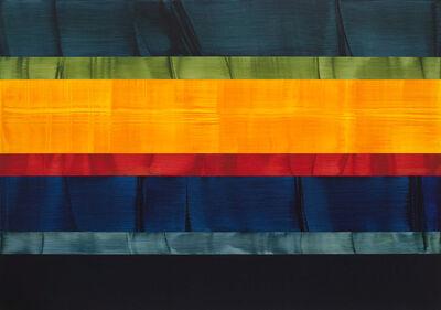 Ricardo Mazal, 'Composition in Greens 21', 2015