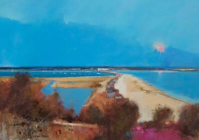 Peter Wileman, 'Christchurch Harbour from Hengistbury Head', 2018