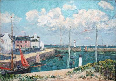 Maxime Maufra, 'Le port Haliguen presqu'île de Quiberon', 1909