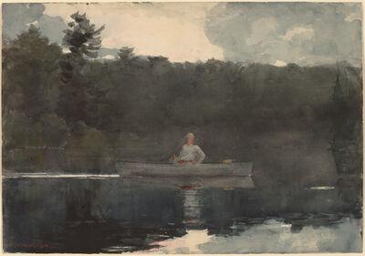 Winslow Homer, 'The Lone Fisherman', 1889