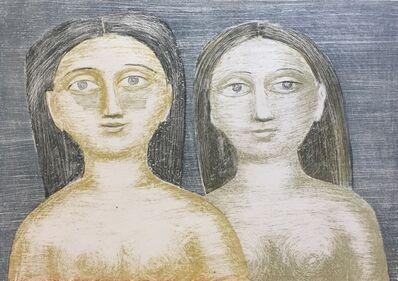 Massimo Campigli, 'Le Sorelle (The Sisters)', 1952