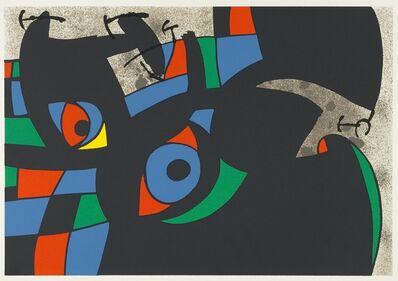 Joan Miró, 'UNTITLED from Le Lézard aux Plumes d'Or', 1971