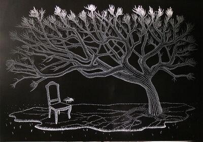 Amparo Sard, 'Waiting', 2015
