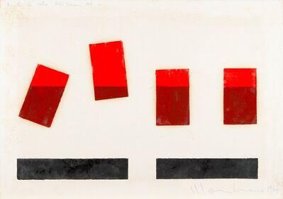 Aldo Mondino, 'Progetto per Mostra Studio Marconi', 1967