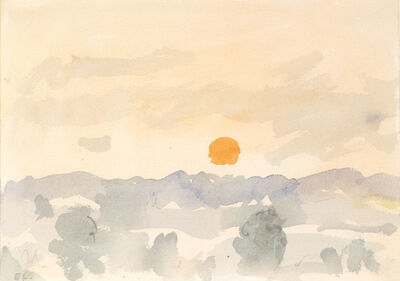 Eugene Leake, 'Morning, Orange Sun', ca. 1995