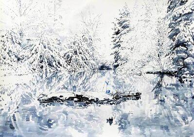 Malgosia Jankowska, 'Waldsee Im Winter', 2018
