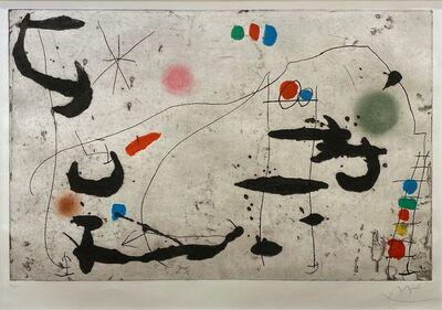 Joan Miró, 'Trace Sur La Paroi VI ', 1967