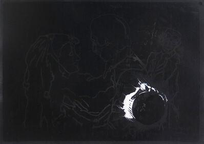 Elham Rokni, 'Paint eclipse', 2015