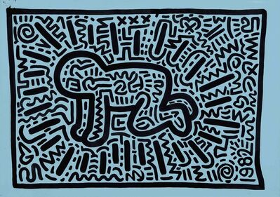 Keith Haring, 'radiant child', 1982