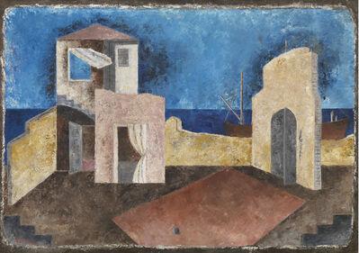 Renato Paresce, 'Paesaggio', 1932