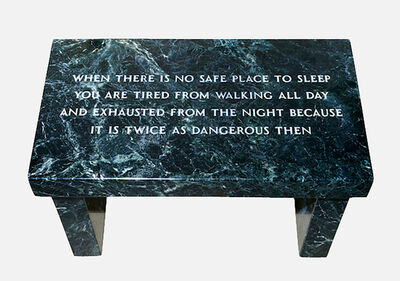 Jenny Holzer, 'Survival:When there is no safe place...,', 1997