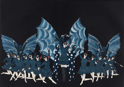 Marcel Dzama, 'Here's a Fine Revolution', 2015